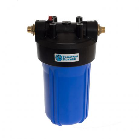 Big Blue Full Flow Water Filter Housing with Brass Ports